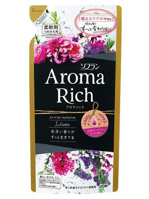 Lion Aroma Rich Juliette : Кондиционер для белья c натуральными ароматическими маслами, 400 мл.