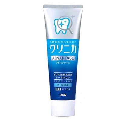 Lion Clinica Advantage Cool Mint : Зубная паста комплексного действия. Освежающая мята, 130 гр