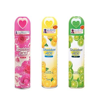 ST Shaldan Ace : Спрей-освежитель воздуха для туалета и ванной комнаты. С ароматами в ассортименте. 230 мл.