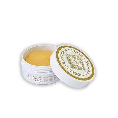 La Miso Gold Hydrogel Eye Patch : Гидрогелевая маска для лица с частицами золота. Для кожи вокруг глаз. 60 шт.