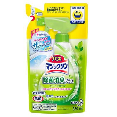 Kao «Magiclean Bath - Магия Чистоты» Спрей-пенка для ванны с антигрибковым, дезинфицирующим эффектом, с ароматом свежих трав, 330 мл.
