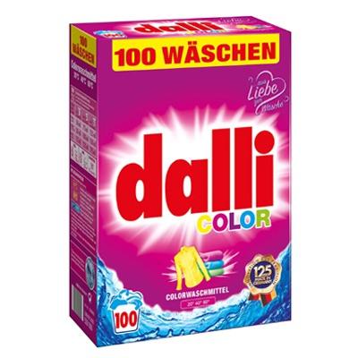 Dalli Стиральный порошок для цветного белья, 100 стирок, 6,5 кг.