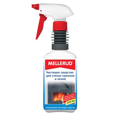 Mellerud Чистящее средство для стекол, каминов и печей. 500 мл.