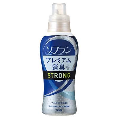 Lion Soflan Strong : Кондиционер-ополаскиватель для белья с ярким натуральным ароматом диких цитрусовых. 570 мл.