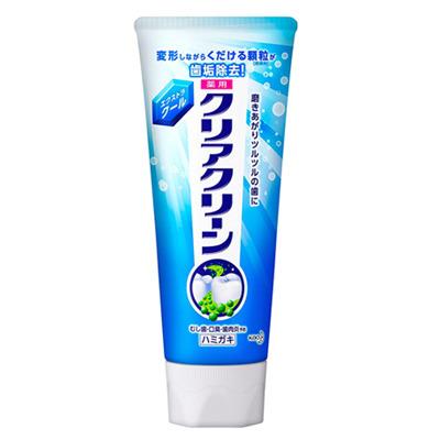 """Kao """"Clear Clean"""" : Лечебно-профилактическая зубная паста, с микрогранулами, с ароматом ментола, 120 г."""