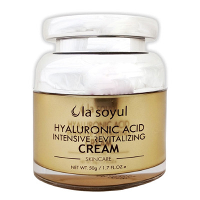 La Soyul Premium Hyaluronic Acid Intensive Revitalizing Cream : Крем с гиалуроновой кислотой для интенсивного восстановления кожи. 50 гр.