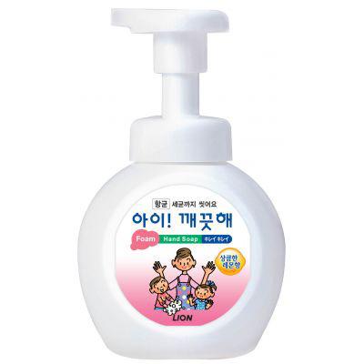 CJ Lion Ai Kekute : Мыло пенное для рук с антибактериальным эффектом, с ароматом лимона, 250 мл