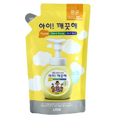 CJ Lion Ai Kekute : Мыло пенное для рук с антибактериальным эффектом, для чувствительной кожи, мягкая упаковка, 200 мл.
