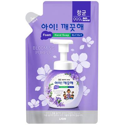CJ Lion Ai Kekute : Мыло пенное для рук с антибактериальным эффектом, с ароматом фиалки, мягкая упаковка, 200 мл.