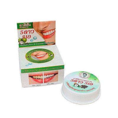 Isme Rasyan Herbal Clove : Зубная паста травяная с гуавой и кокосом, 25 гр.