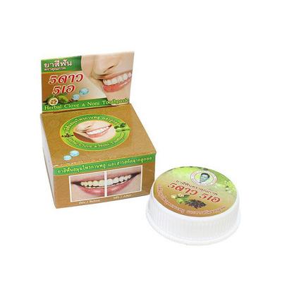 Isme Rasyan Herbal Clove : Зубная паста травяная с гвоздикой и нони, 25 гр.