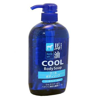 Cosme Station Cool : Освежающий гель для душа для мужчин с лошадиным маслом и ароматом ментола 600 мл.