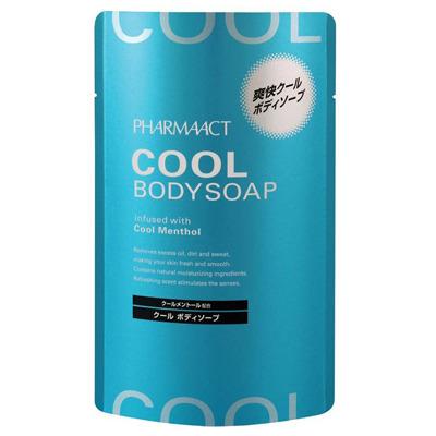 Cosme Station : Освежающий гель для душа Pharmaact Cool, сменная упаковка, 400 мл.
