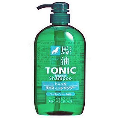 Cosme Station Tonic : Шампунь для мужчин с лошадиным маслом и ароматом ментола, 600 мл.