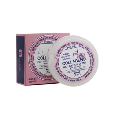 Juno Zuowl Foot & Elbow Collagen Cream : Крем для ног и локтей с коллагеном, 100 мл.