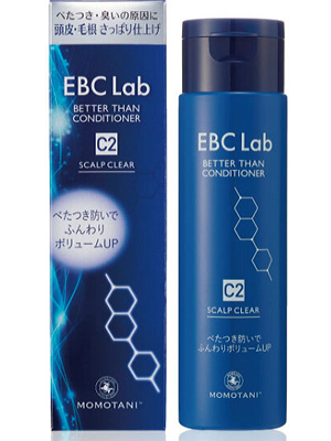"Momotani ""EBC Lab Scalp clear conditioner"" : Кондиционер для придания объема, для жирной кожи головы, 290 мл."