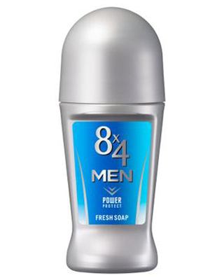 Kao «8x4 Men Roll On Power Protect» : Роликовый дезодорант-антиперспирантдля мужчин, с ароматом свежести. 60 мл.