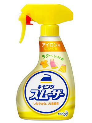 "Kao ""Keeping Smoother"" : Средство для глажки белья, со свежим ароматом трав, спрей, 400 мл."