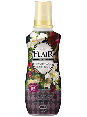 """Kao """"Flaire Fragrance Sweet & Spice"""" : Кондиционер-смягчитель для белья с ароматом цветов и специй 570 мл."""