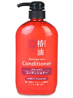 Cosme Station Tsubaki Oil Damage Care Conditioner : Кондиционер для ухода за поврежденными волосами, с натуральным маслом камелии, 600 мл.