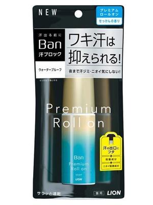 Lion Premium Gold Label Премиальный дезодорант-антиперспирант роликовый, нано-ионный, с ароматом цветочного мыла, 40 мл.