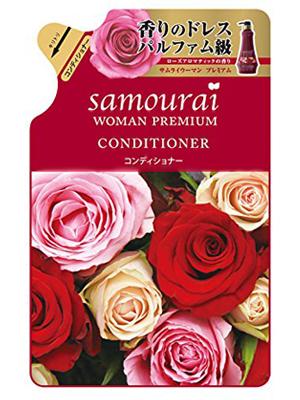 SPR Japan Samourai Woman Premium Кондиционер для волос восстанавливающий и увлажняющий, с великолепным ароматом роз, 370 мл.