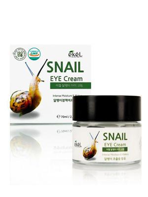 Ekel Eye Cream Snail Крем для век с улиточным муцином 70 мл.