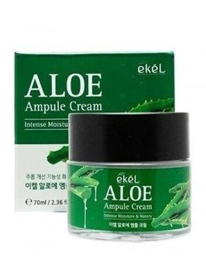 Ekel Ampule Cream Aloe Крем для лица ампульный регенерирующий с алоэ 70 мл.