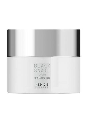 Med B Premium Cream Black Snail Премиальный крем для лица с экстрактом муцина улитки 50 мл.