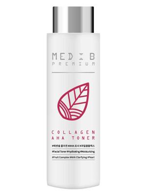 Med B Premium Toner Collagen AHA Премиум тонер для лица с коллагеном АНА 200 мл.