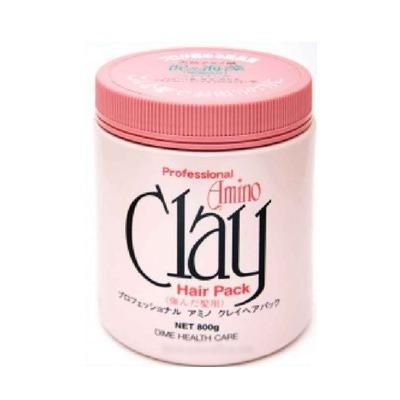 Dime Professional Amino Clay Hair Pack : Профессиональная маска для поврежденных волос. С голубой глиной и минералами. С полезными аминокислотами. 800 гр.