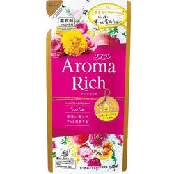 Lion Aroma Rich Scarlett : Кондиционер для белья c натуральными ароматическими маслами, 400 мл.