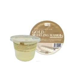 La Miso Gold Modeling Mask : Альгинантная маска для лица с частицами золота. Лифтинг, обновление кожи. Для любого типа кожи. 28 гр.