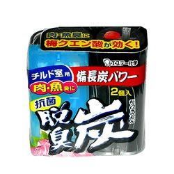 ST Dashuutan : Антибактериальный желеобразный поглотитель запаха для основной и охлаждающих камер холодильника. 2 х 55 гр.