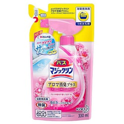 Kao «Magiclean Bath - Магия Чистоты» Спрей-пенка для ванны с антигрибковым, дезинфицирующим эффектом, с ароматом розы, 330 мл.