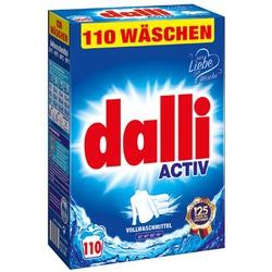 Dalli Activ : Стиральный порошок для белого и светлого белья, 110 стирок 7,15 кг