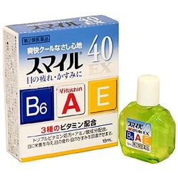 Lion Sumairu 40 EX : Капли для глаз с аминокислотами и витаминами B6, A, E, с охлаждающим эффектом, 15 мл.