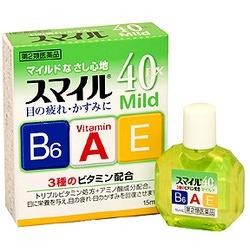 Lion Sumairu 40 Mild : Капли для глаз с аминокислотами и витаминами B6, A, E, 15 мл.
