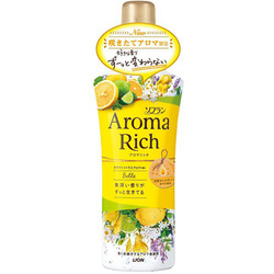 Lion Aroma Rich Belle : Кондиционер для белья с ароматом жасмина и цитрусовых, 520 мл.