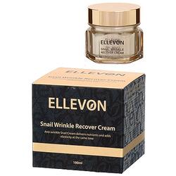 Ellevon Snail Wrinkle Recover Cream : Анти-возрастной крем с фильтратом слизи улитки. 100 мл.