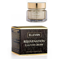Ellevon Rejuvenation E.G.F. Eye Cream : Омолаживающий крем для глаз с E.G.F. Высокоактивный крем для глаз с эпидермальным фактором роста. 50 мл.