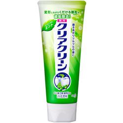 """Kao """"Clear Clean"""" : Лечебно-профилактическая зубная паста, с микрогранулами, с мятным вкусом, 130 г."""
