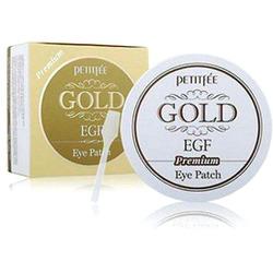 Petitfee «Gold & EGF Eye & Spot Patch» : Гидрогелевая маска для кожи вокруг глаз с золотом и EGF «Премиум», 60 шт.