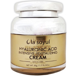 La Soyul Premium Hyaluronic Acid Intensive Revitalizing Cream : Крем с гиалуроновой кислотой для интенсивного восстановления кожи. 50 гр.