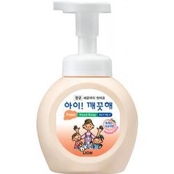 CJ Lion Ai Kekute : Мыло пенное для рук с антибактериальным эффектом, с ароматом персика, 250 мл.