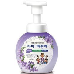 CJ Lion Ai Kekute : Мыло пенное для рук с антибактериальным эффектом, с ароматом фиалки, 250 мл.