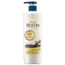 CJ Lion Rice Day : Шампунь для нормальных волос увлажняющий, 550 мл.