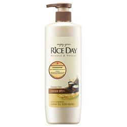 CJ Lion Rice Day : Восстанавливающий кондиционер для поврежденных и ослабленных волос, 550 мл.