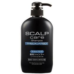 Cosme Station Scalp Care Medicated : Шампунь лечащий для ухода за кожей головы, 600 мл.
