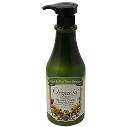 White Cospharm Aroma Green Body Cleanser : Гель для душа с Алоэ и Зеленым чаем, 750 мл.